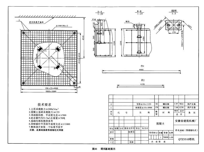 安徽建机基础图5510,5610通用